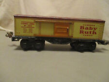 "Vintage Prewar 1930""s? Lionel 1679 Baby Ruth Candy Box Car!!"