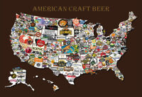 American Craft Beer Bier Blechschild Schild gewölbt Metal Tin Sign 20 x 30 cm