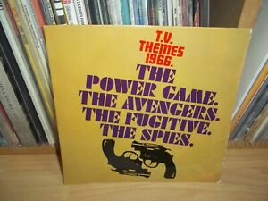 T.V.THEMES 1966 The Avengers +3... UK PYE 1st Press EP OST Laurie Johnson TRUNK