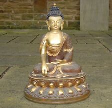 Tibetan Buddha Tibet Buddhist Vintage Statue Copper