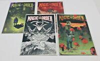 THE MAGIC ORDER (4) Issues #1 2 3 4  iMAGE 1st print comic mini series