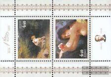 Estonia Bloque 15 (compl.edición) nuevo con goma original 2001 Köler