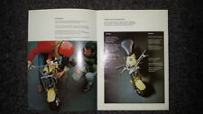 Honda MONKEY CZ100 Z100 Z50 Z50A Z50M   QA50 BROCHURE RARE HONDA SAFETY PROGRAM
