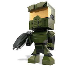 Mega Bloks Kubros Halo #17 MASTER CHIEF Buildable Collectors Figure