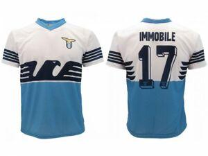 Trikot Immobile Lazio ROM 2019 Anzahl 17 Prodotto Ufficiale SS Lazio Home Adler