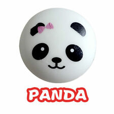 Well 10cm Panda Squishy Kawaii Buns Bread Charms Key/Bag/Cell Phone Strap Fh