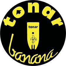 Slipmats Tonar Banana (1 Stück / 1 Piece) leuchtet unter Schwarzlicht! NEU+OVP!