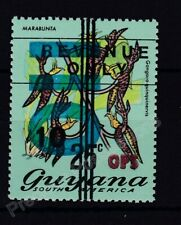 More details for guyana mnh stamp 1981 revenue only ops surch 110 on 10 on 25c