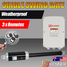KENNER Metal Actuator Automatic Motor Powered Remote Single Swing Gate Opener