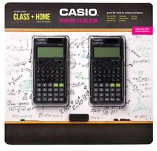 Casio FX-300ESPLS2-S 2nd Edition Scientific Calculator, 2-pack CLASS + HOME NEW