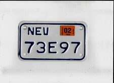"""NEVADA 2015 license plate """"73E97"""" ***MOTORCYCLE***"""