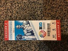2017 BIG TEN TOURNAMENT TICKET STUB SESSION 2 BASKETBALL MICHIGAN WOLVERINES