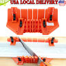 Multifunctional Miter Saw Box Cabinet Saw Guide Woodworking Mitre Box with Clamp