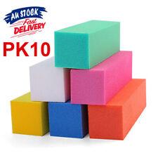 10 pcs Nail Sanding Block Buffer Acrylic OK Files Art