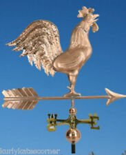 """EXTRA LARGE COPPER """" ROOSTER"""" WEATHERVANE  MADE IN USA #365"""