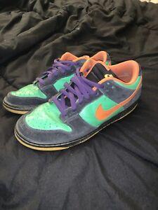 Nike SB Green Spark/Hoop Orange 10.5 US MEN