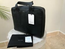 Genuine PS da Paul Smith Nero//Cachi Messenger Crossbody Borsa per Laptop RRP £ 295 BNWT