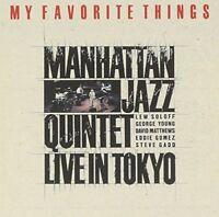 MANHATTAN JAZZ QUINTET-MY FAVORITE THINGS-JAPAN CD