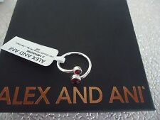 Alex and Ani JANUARY RING WRAP Sterling Silver New W/Tag Card Pouch & Box
