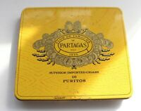 Vintage Partagas Cigar Tin