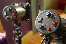 Studio Kit de iluminación de Flash con cuadros suave y soportes