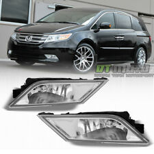 For 2011-2013 Honda Odyssey Bumper Driving Fog Lights + Switch 11-13 Left+Right