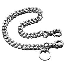 Hip Hop Key Chain 100% Stainless Steel Car Carabiner Keychain Mens Wallet Chain