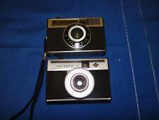Vintage 2 Kameras Agfa Isomat Rapid / Iso-rapid I geprüft (2528)