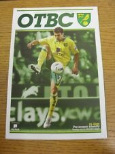 31/07/2012 Norwich City v Ajax [Friendly] . Thanks for viewing our item, buy wit
