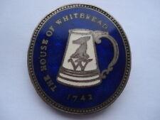 More details for c1950s vintage the house of whitbread enamel lapel badge