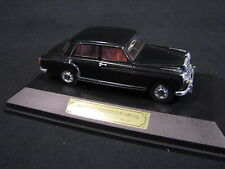 Faller Mercedes-Benz 220 S Ponton W180 1956 1959 1:43 Black (JvM)