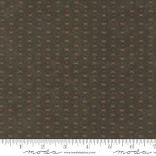 Endangered Santuary Green Cross dot Holly Taylor By the yard Cotton FLANNEL Moda