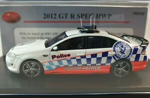 TRAX TRR53C 1:43 scale model of a  2012 Ford GT R Spec NSW HWY Patrol Police car