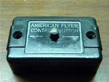 American Flyer Control Button