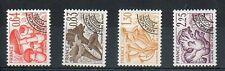 Serie des timbres Préoblitérés N° YT 158 à 161 neufs **