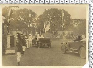 Photo coloniale Française. Somalie. Arrivée les hauts gradés. Vers 1920