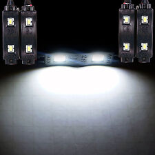 4pcs White LED Accent Lights Modules Interior Car Truck Dash Foot For Nissan