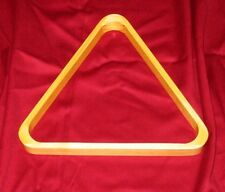"en bois table de billard boule triangle support pour 2 1/4 "" American Style 57mm"
