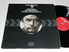 STRAUSS Ein Heldenleben Reiner Chicago Symphony 1/2 speed Audiophile Red Seal 5
