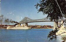 B98772 montreal quebec le pont jaques cartier  canada  ship bateaux