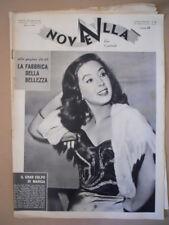 NOVELLA n°21 1957 Marisa Del frate Festival di Napoli [G794]