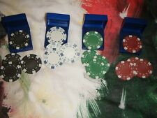 SHIMED POKER CHIPS X 4 BOXES