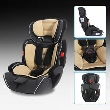 Brown Convertible Baby Kid Children Car Seat & Booster Seat Group 1/2/3 9-36kg