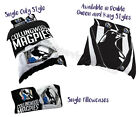 Collingwood Magpies 2017 AFL Quilt Cover Doona Pillowcase All Sizes Available
