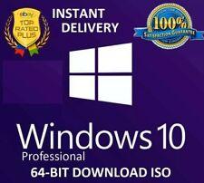 Microsoft Windows 10 Pro Professional 32-/64bit Genuine License Key Instant