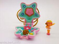 Polly Pocket Mini ♥ Zauberfee Catenella 1992 ♥ ** FAIRY GARDEN Locket ♥ ** COMPLETO *