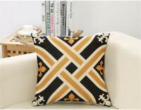 Modern Pillowcase Funda de cojín Simplicity Funda de almohada para sofá y coche