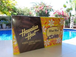 HAWAIIAN HOST CHOCOLATE  MACADAMIA NUT ISLAND MACS 5 ounce box Same Day Shipping