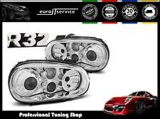 NEUF FEUX AVANT PHARES LPVW61 VW GOLF 4 1997-1999 2000 2001 2002 2003 R3LOOK
