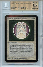 MTG Alpha Circle of Protection BGS 9.5 Gem Mint Magic The Gathering WOTC 7215